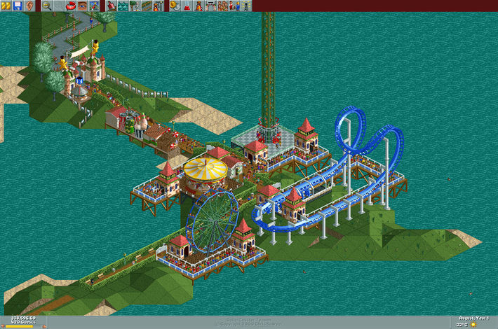 RollerCoaster Tycoon: Deluxe - RollerCoaster Tycoon - The