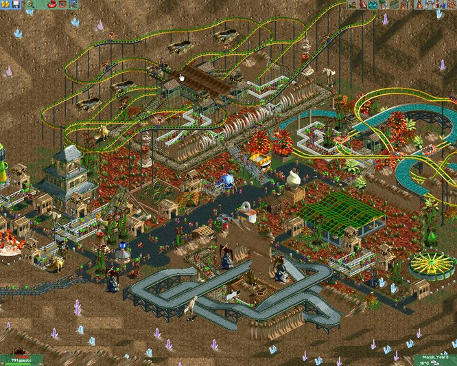 Roller coaster tycoon 2 games are there casinos in little rock ar