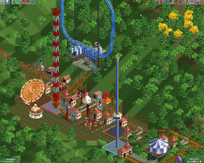 how to create high intensity rollercoaster tycoon touch