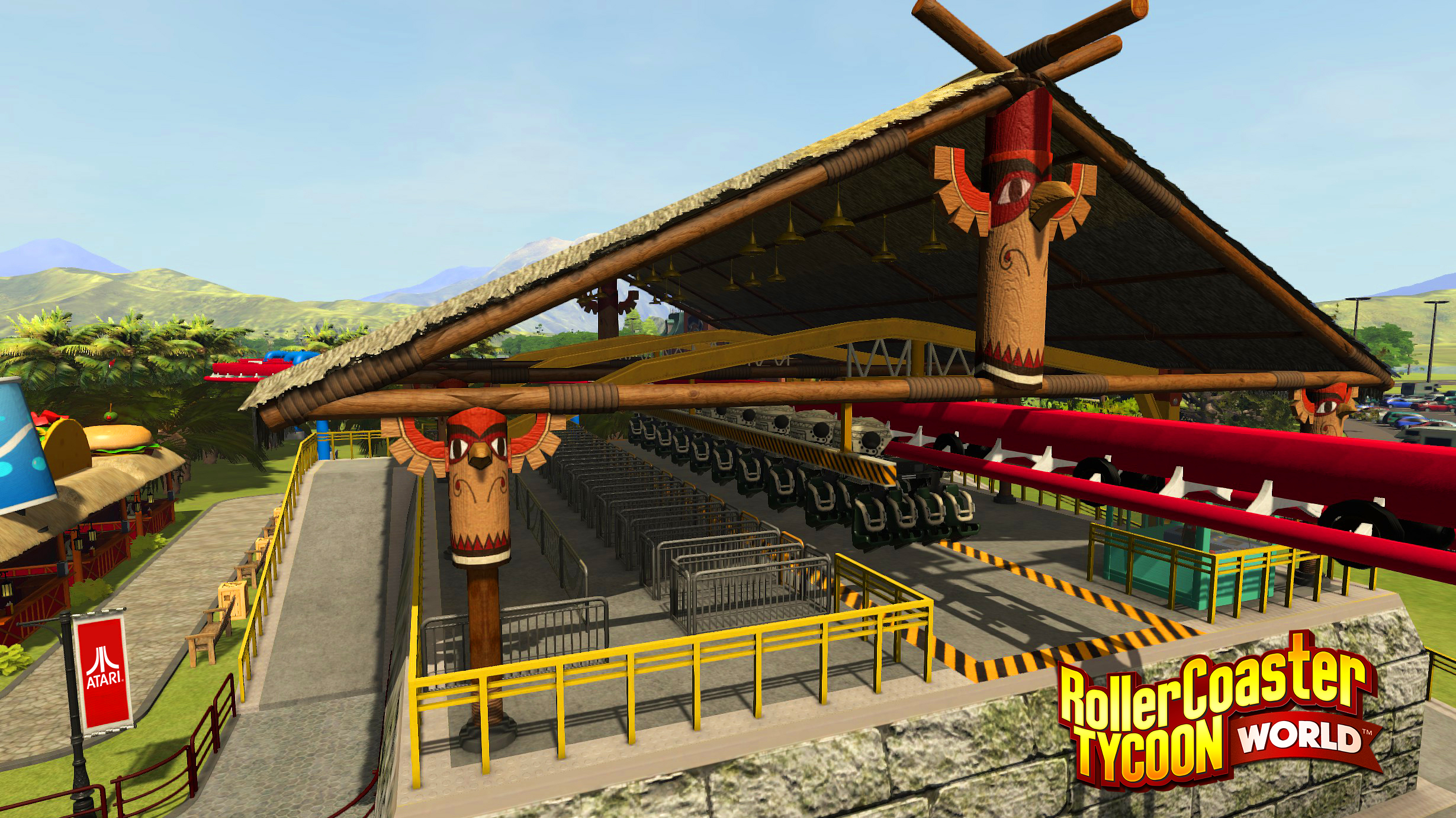 RCTW Suspended Coaster
