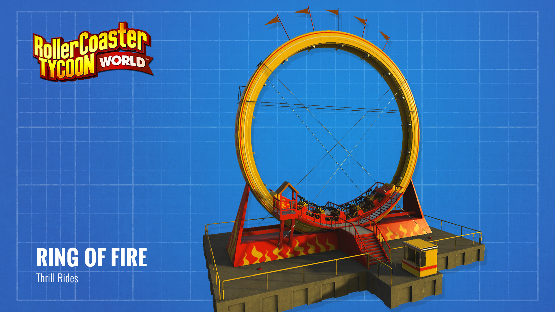 Ring of Fire - Flat Ride - Thrill Rides