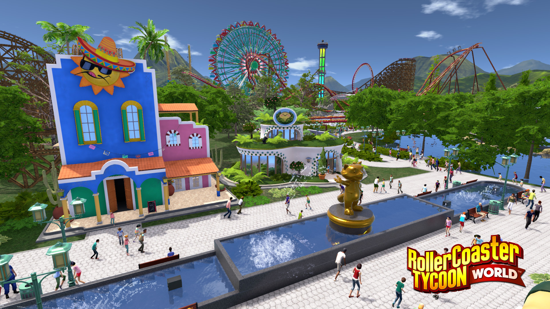 RCTW - Post-Release Update #5 - Water Features! - RollerCoaster
