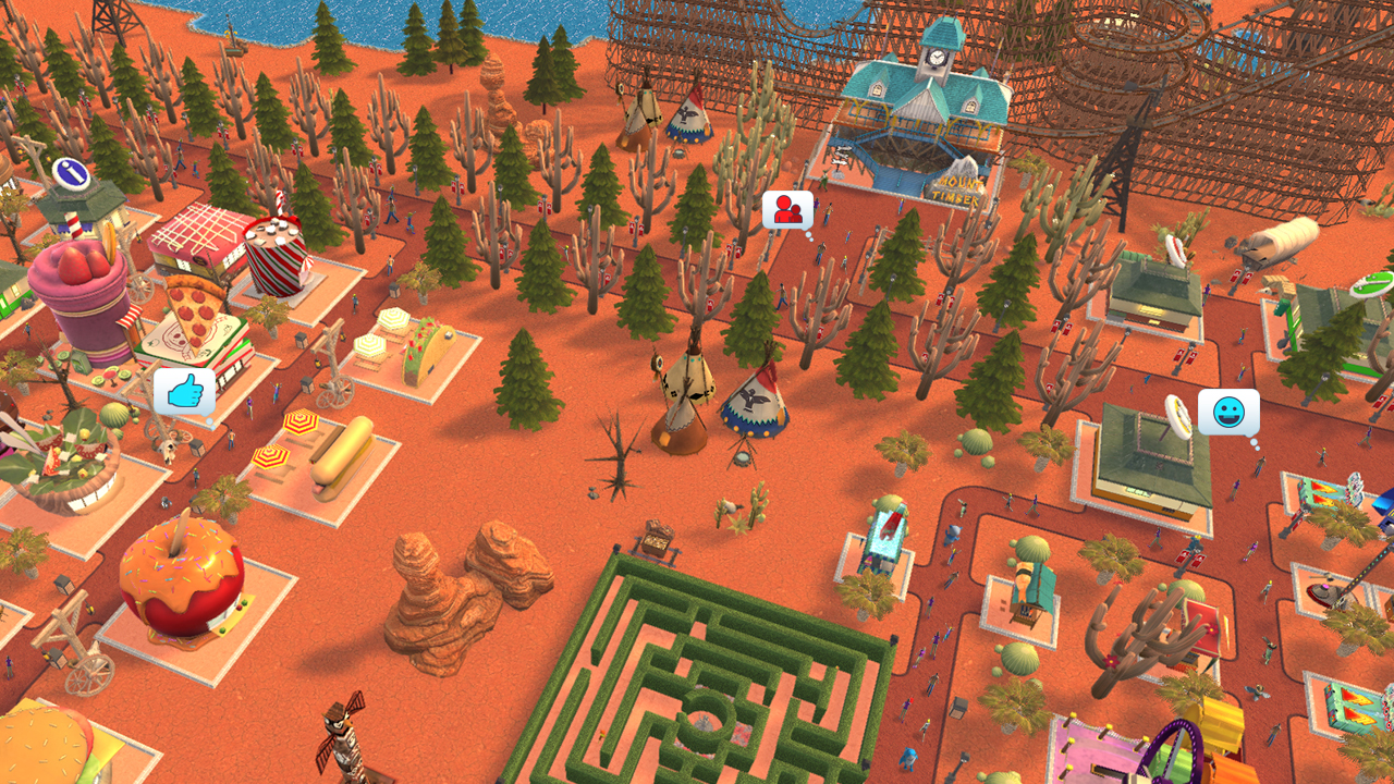 RollerCoaster Tycoon Adventures - RollerCoaster Tycoon - The