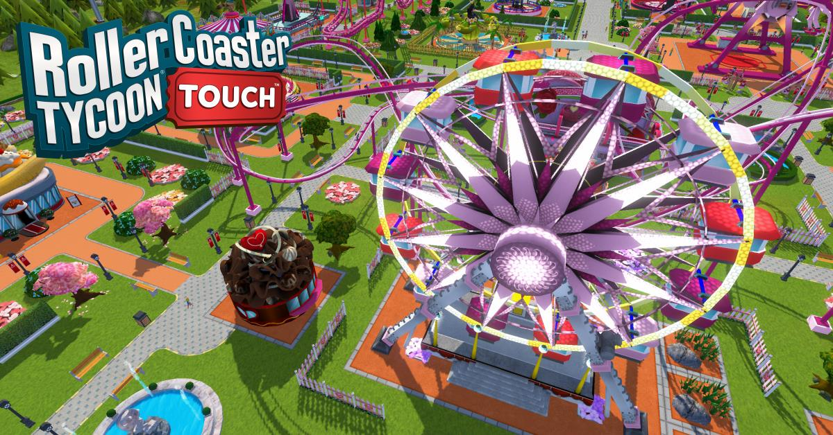 RCT Touch - Valentine's Update! - RollerCoaster Tycoon - The