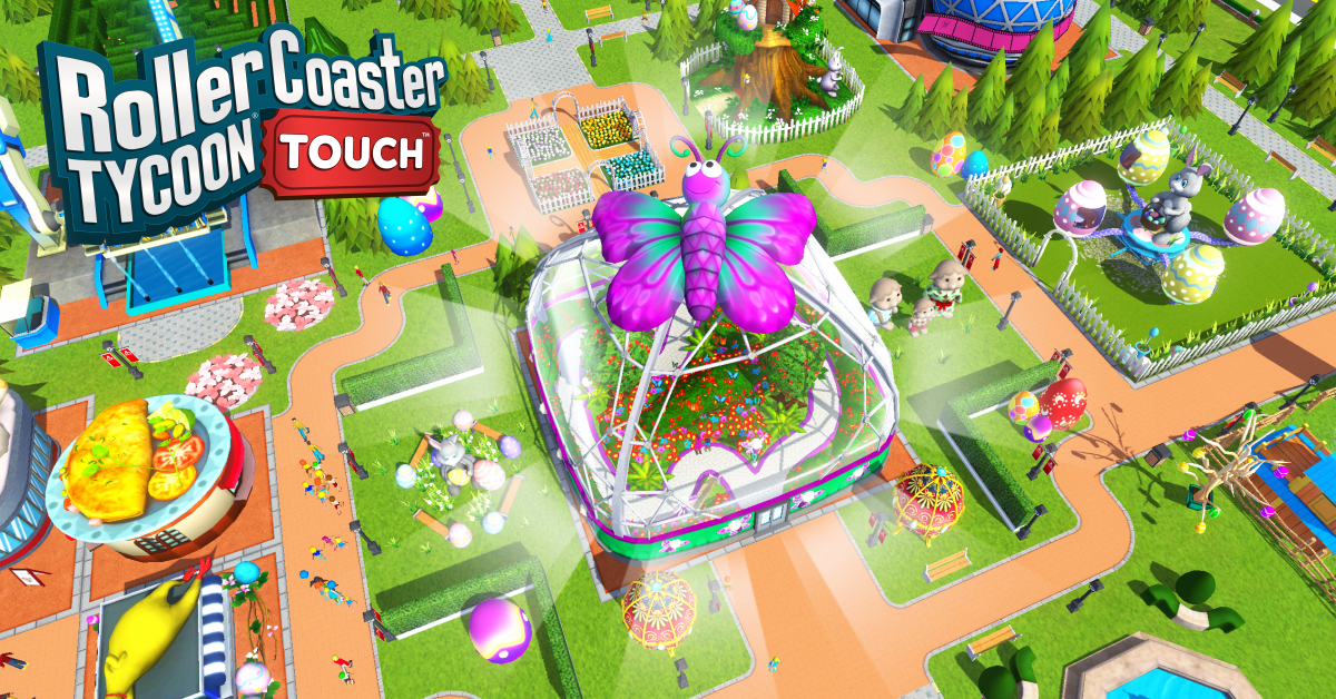 RCT Touch - Easter Update! - RollerCoaster Tycoon - The Ultimate