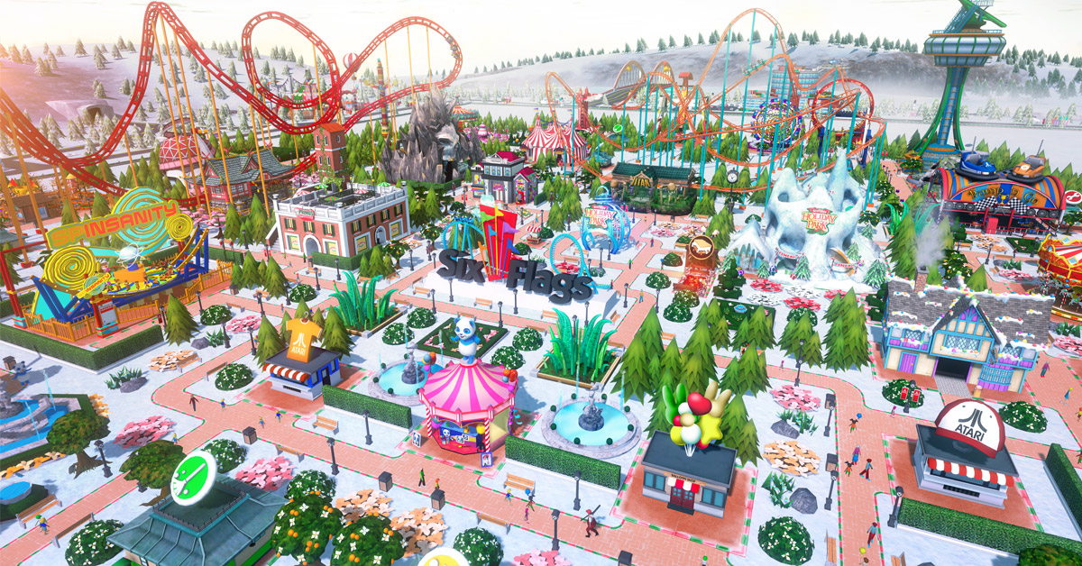 RCT Touch – Six Flags Holiday in the Park