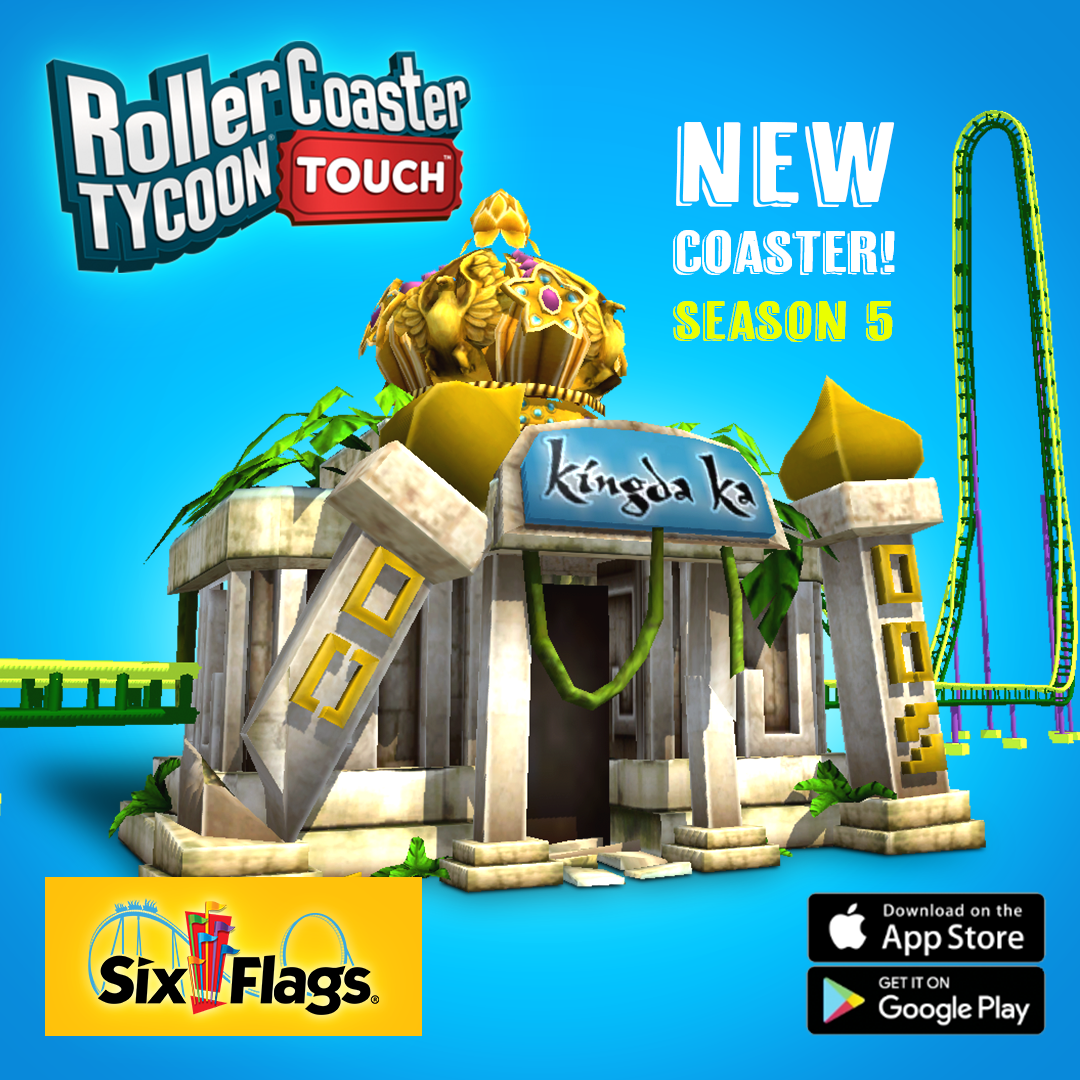 RCT Touch – Six Flags Season 5!