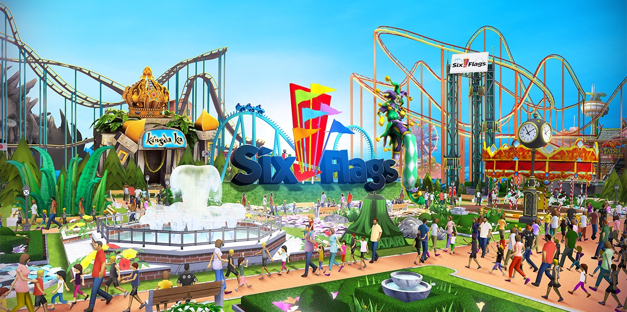 RCT Touch – Six Flags Season 6!